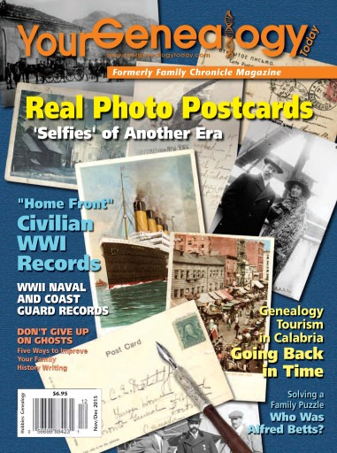 Your Genealogy Today issue Nov-Dec 2015