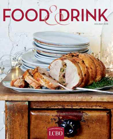 LCBO Food & Drink issue Holiday 2015