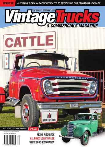 Vintage Trucks & Commercials issue November December