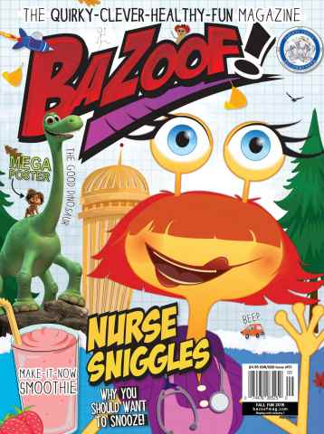 Zamoof! issue Fall Fun 2015