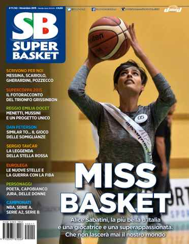 Superbasket issue Novembre 2015