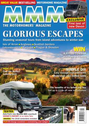 MMM issue Glorious Escapes - December 2015