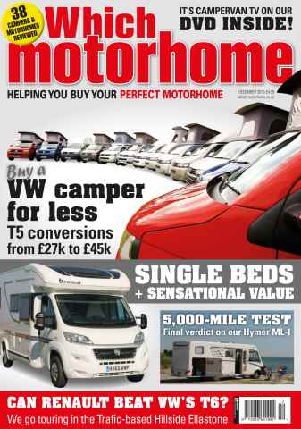 Which Motorhome issue VW Campervan special issue - December 2015