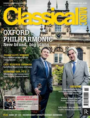 Classical Music issue November 2015