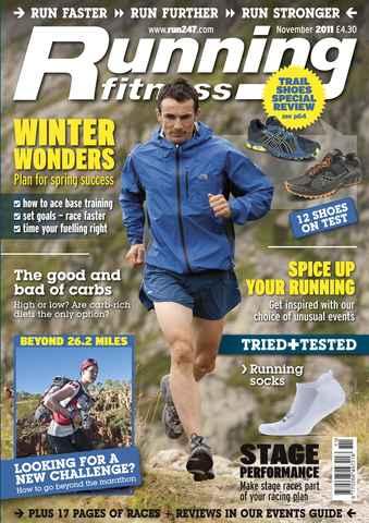 Running Fitness issue Goal Setting November 2011