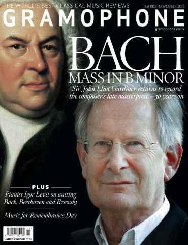 Gramophone issue November 2015