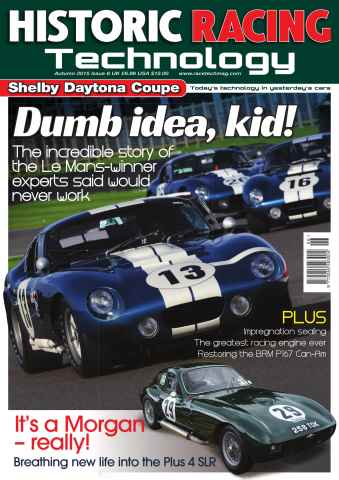 Historic Racing Technology issue Autumn 2015