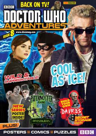 Doctor Who Adventures Magazine issue 05.11.2015  Issue 8