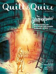 Quill & Quire issue December 2015