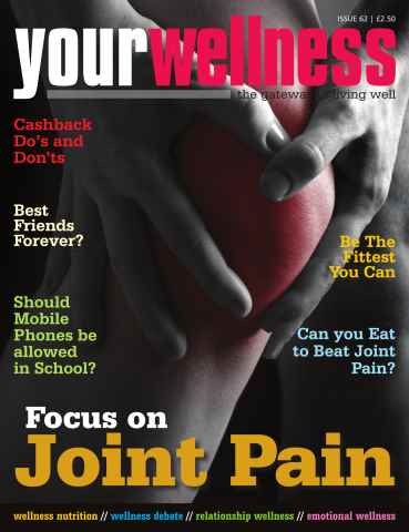 Yourwellness - The Gateway To Living Well issue Joint Pain