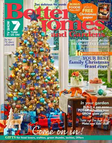 Better Homes and Gardens Australia issue Christmas 2015