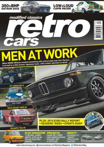 Retro Cars issue No. 90 Men at Work