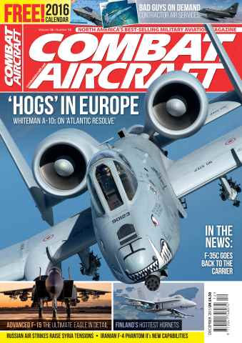 Combat Aircraft issue December 2015