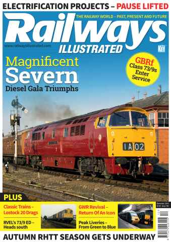 Railways Illustrated issue December 2015