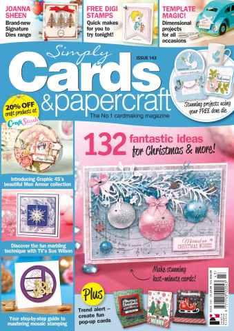 Simply Cards & Papercraft issue 143