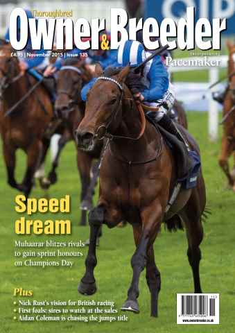 Thoroughbred Owner and Breeder issue November 2015 - Issue 135
