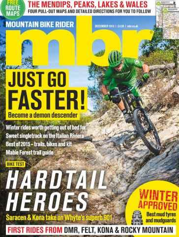 Mountain Bike Rider issue December 2015