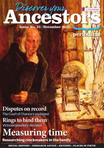 Discover Your Ancestors issue November 2015