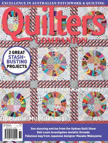 Quilters Companion issue Issue#76 Dec/Jan 15