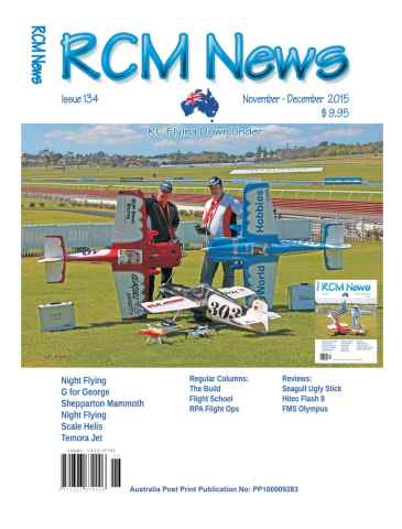 Radio Control Model News issue RCM News 134
