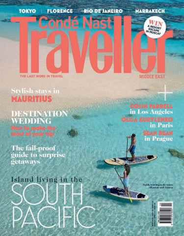 Conde Nast Traveller Middle East issue November 2015