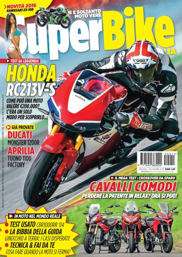 Superbike Italia issue Novembre 2015