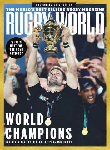 Rugby World issue December 2015