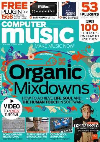 Computer Music issue December 2015