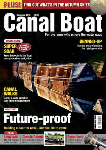 Canal Boat issue December 2015
