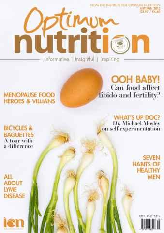Optimum Nutrition issue Autumn 2015