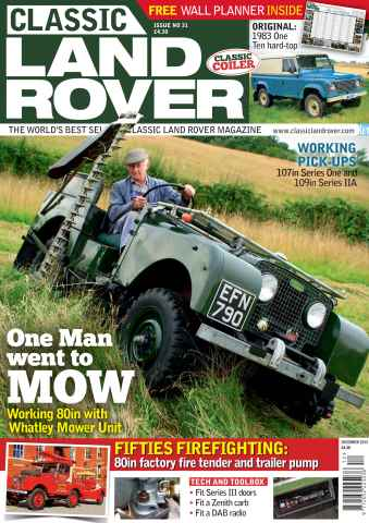 Classic Land Rover Magazine issue December 2015