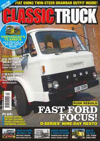 Classic Truck issue No. 20 Fast Ford Focus