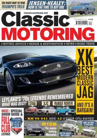 Classic Motoring issue Dec-15