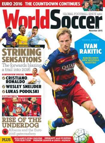 World Soccer issue November 2015