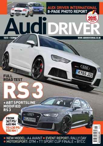 Audi Driver issue November 2015