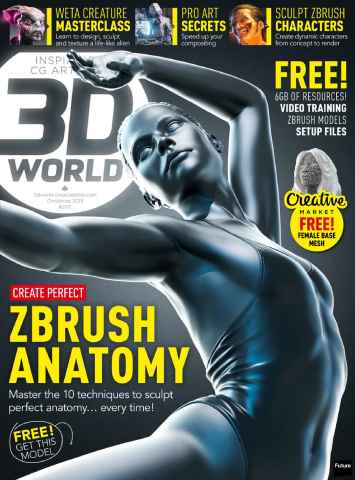 3D World issue Christmas 2015