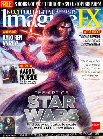 ImagineFX issue Xmas 2015