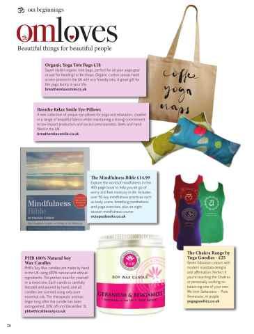 OM Yoga UK Magazine Preview 20