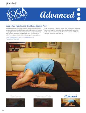 OM Yoga UK Magazine Preview 38