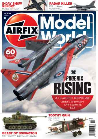 Airfix Model World issue December 2015