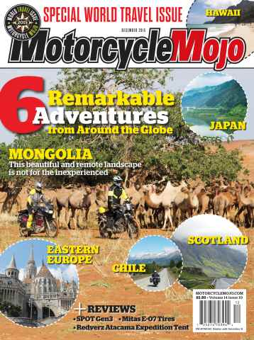 Motorcycle Mojo issue December 2015