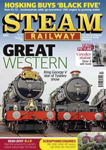 Steam Railway issue Issue 447