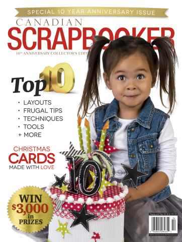 Canadian Scrapbooker issue Winter 2015/16