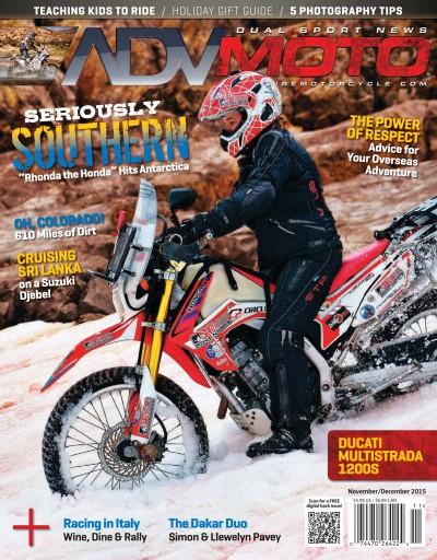 Adventure Motorcycle issue November-December 2015