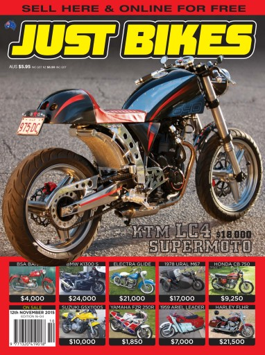 JUST BIKES issue 16-004