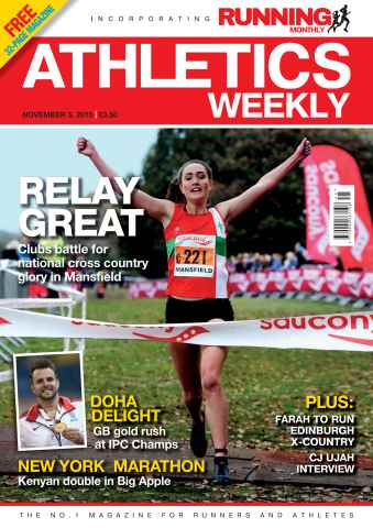 Athletics Weekly issue 05 November 2015