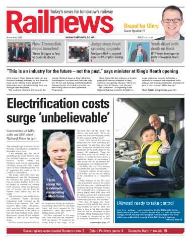 Railnews issue November 2015