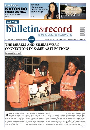 The Bulletin & Record issue November 2015