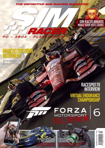 Sim Racer issue Vol 1 Iss 8