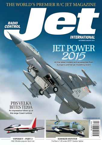 Radio Control Jet International issue December/January 2016